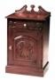 Noční stolek - Carved Door Cabinet