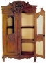 Skříň - Armoire Normandy Bridal with Upholstery