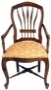 Židle - French Wheatback Carver