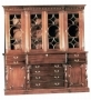 Breakfront Bookcase with Secretaire