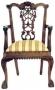 Židle - Ribbon Chippendale Carver