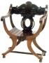 Křeslo - Cross Frame Chair