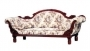 Colonial Double Ended Couch with Cushion
