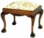 Ball and Claw Stool 1 Seater