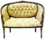 French Oval Livingroom 2 Seater