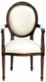 Židle - Chair French Oval Carver