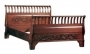Carved Sleigh Bed California