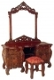 Rococo Dressing Table with Puff