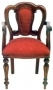 Židle - Admiralty Carver Back Upholstery Chair