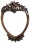 Zrcadlo - Grape Heart Carved Mirror