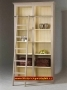 Elsawhite Bookcase with grey ladder