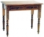 Writing Table Victorian 2 Drawer LG