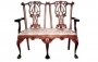 Židle - Chippendale 2 Seater New Gothic