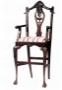 Židle - Chippendale Bar Chair Large Shell