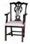 Židle - Chippendale Plain Leg Carver