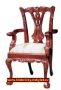 Mini Chippendale Arm Chair 65 Cm