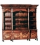 Office Bookcase Carved