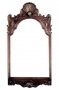 Zrcadlo - Chippendale Shell Carved Mirror