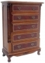 Chest Canopy 5 Drawer Pillar