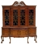 Chippendale Breakfront China Cabinet LG