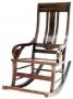 Houpací židle - Rocking Chair Teak