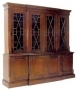 Breakfront Bookcase Cabinet 4 Door