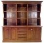 Empire Bookcase 2 Door 4 Drawer