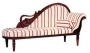 Swan Chaise Lounge with Cushion