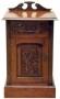 Noční stolek - Carved Door Cabinet A
