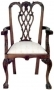 Židle - Chair Chippendale S Carver