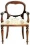 Židle - Chair Dutch FL Carver