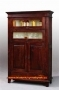 Bremen Whiskey Cabinet 2 Doors White Cream