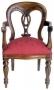 Židle - Fiddleback Carver